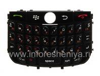 Русская клавиатура BlackBerry 8900 Curve, Черный