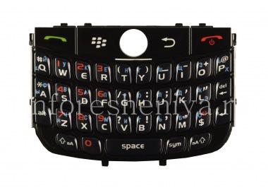Купить Русская клавиатура BlackBerry 8900 Curve (гравировка)