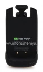 Фирменный чехол-аккумулятор Case-Mate Fuel Holster Case для BlackBerry 8900 Curve, Черный (Black)