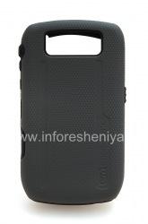 Фирменный чехол повышенной прочности Case-Mate Hybrid для BlackBerry 8900 Curve, Черный (Black)
