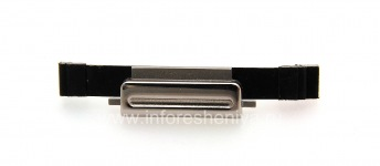 Защелка крышки аккумулятора (Battery clip) для BlackBerry 9000 Bold, Металлик
