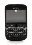 "Colour iKhabhinethi for BlackBerry 9000 Bold, Matte Black, cover ""isikhumba"""