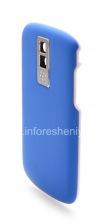 """Фотография 11 — Цветной корпус для BlackBerry 9000 Bold, Голубой Матовый, крышка """"Кожа"""""""