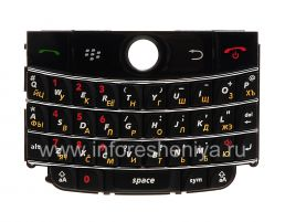 Русская клавиатура для BlackBerry 9000 Bold (копия), Черный