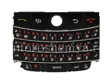 Купить Русская клавиатура для BlackBerry 9000 Bold (гравировка)