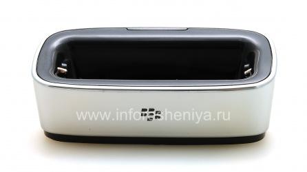 """Настольное зарядное устройство """"Стакан"""" для BlackBerry 9000 Bold (копия), Металлик"""