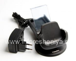 Оригинальная зарядная станция Power Station для BlackBerry 9000 Bold, Черный