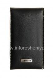 Signature Leather Case Krusell Orbit Flex Multidapt Ledertasche für Blackberry 9000 Bold, Black (Schwarz)