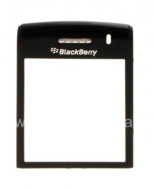 Купить Оригинальное стекло на экран с металлическим креплением и сеткой динамика для BlackBerry 9100/9105 Pearl 3G
