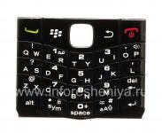 Оригинальная английская клавиатура для BlackBerry 9100 Pearl 3G, Черный