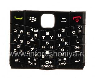 El teclado original en Inglés para BlackBerry 9100 Pearl 3G, Negro
