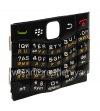 Фотография 3 — Русская клавиатура BlackBerry 9100 Pearl 3G (копия), Черный с белыми цифрами