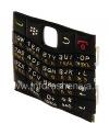 Фотография 4 — Русская клавиатура BlackBerry 9100 Pearl 3G (копия), Черный с белыми цифрами