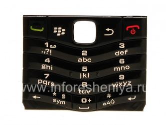 Оригинальная английская клавиатура для BlackBerry 9105 Pearl 3G, Черный