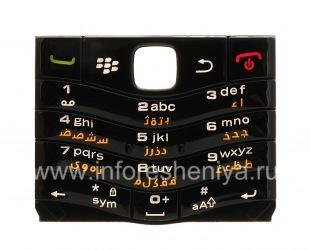 Оригинальная клавиатура BlackBerry 9105 Pearl 3G другие языки, Черный, Арабский