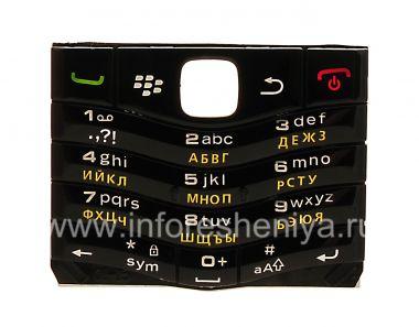 Купить Русская клавиатура BlackBerry 9105 Pearl 3G (копия)