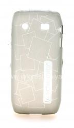 Фирменный силиконовый чехол уплотненный Case-Mate Gelli для BlackBerry 9100/9105 Pearl 3G, Серый (Gray)
