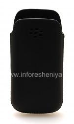 Оригинальный кожаный чехол-карман Koskin Pocket Pouch для BlackBerry 9100/9105 Pearl 3G, Черный