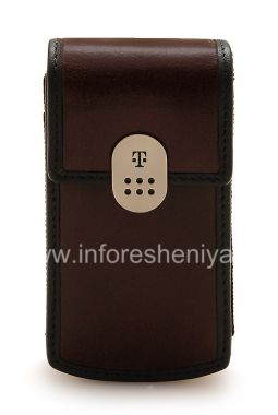 Buy Branded Leather Case with Clip T-Mobile Leather Carrying Case & Holster for BlackBerry