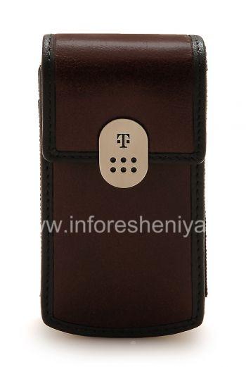 BlackBerry用ケース&ホルスターを運ぶクリップT-Mobileのレザーとシグネチャーレザーケース