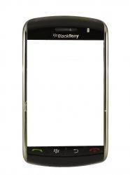 Оригинальный ободок со всеми элементами, установленной верхней частью и клавиатурой для BlackBerry 9500/9530 Storm, Черный