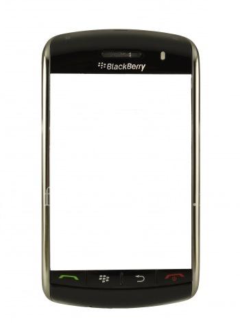 L'anneau d'origine avec tous les éléments établis par le haut et le clavier pour BlackBerry 9500/9530 Tempête