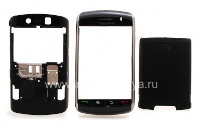 Kasus asli untuk BlackBerry 9500 / 9530 Badai, hitam