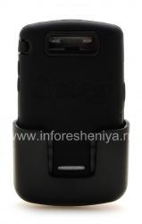 Фирменный пластиковый чехол-корпус повышенного уровня защиты с кобурой OtterBox Defender Series Case для BlackBerry 9500/9530 Storm, Черный (Black)