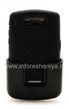 Купить Фирменный пластиковый чехол-корпус повышенного уровня защиты с кобурой OtterBox Defender Series Case для BlackBerry 9500/9530 Storm