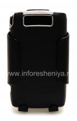 Фирменный эксклюзивный кожаный чехол с кобурой Verizon Shell/Holster Combo для BlackBerry 9520/9550 Storm2, Черный (Black)