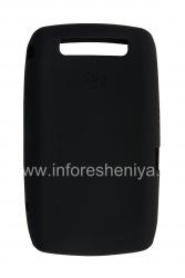 Оригинальный силиконовый чехол для BlackBerry 9520/9550 Storm2, Черный (Black)