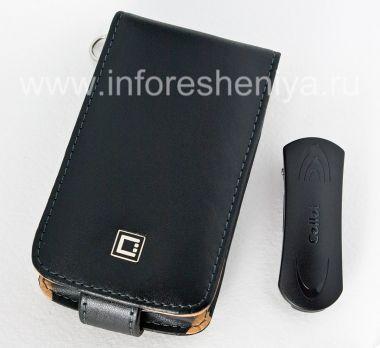 Купить Фирменный кожаный чехол с вертикально открывающейся крышкой Cellet Executive Case для BlackBerry 9520/9550 Storm2
