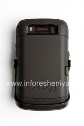 Фирменный пластиковый чехол-корпус повышенного уровня защиты OtterBox Defender Series Case для BlackBerry 9520/9550 Storm2, Черный (Black)