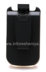Чехол-аккумулятор с клипсой для BlackBerry 9630/9650 Tour, Черный матовый