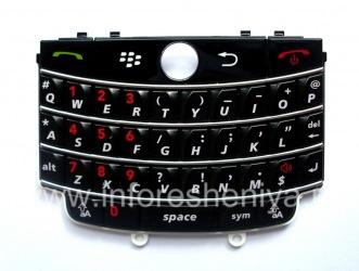 Оригинальная английская клавиатура для BlackBerry 9630/ 9650 Tour, Черный