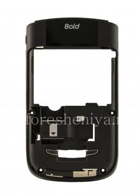 Купить Средняя часть оригинального корпуса со всеми элементами  без отверстия камеры для BlackBerry 9630/ 9650 Tour