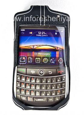 Купить Фирменный силиконовый чехол с зажимом Wireless Xcessories Platinum Skin Case with Belt Clip для BlackBerry 9630/9650 Tour