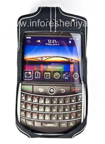 Фирменный силиконовый чехол с зажимом Wireless Xcessories Platinum Skin Case with Belt Clip для BlackBerry 9630/9650 Tour