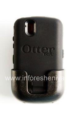 Купить Фирменный пластиковый чехол-корпус повышенного уровня защиты OtterBox Defender Series Case для BlackBerry 9630/9650 Tour
