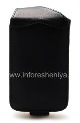 Фирменный кожаный чехол комбинированный Smartphone Experts CombiFlip для BlackBerry 9700/9780 Bold, Черный (Black)