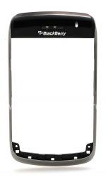 Das Original-Ring für Blackberry 9700 Bold, Metallic-Oberteil schwarz
