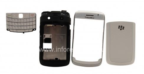 Оригинальный корпус для BlackBerry 9700 Bold, Белый (Pearl White)