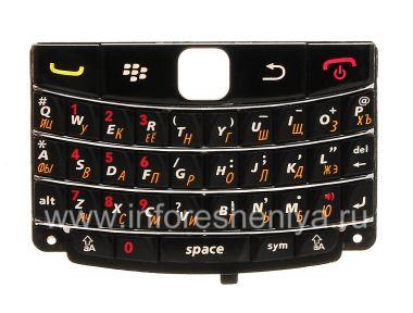 Купить Русская клавиатура BlackBerry 9700/9780 Bold с тонкими буквами