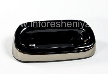 """Настольное зарядное устройство """"Стакан"""" для BlackBerry 9700/9780 Bold (копия), Металлик"""