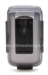 Фирменный пластиковый чехол Speck SeeThru Case + кобура для BlackBerry 9700/9780 Bold, Дымчатый серый