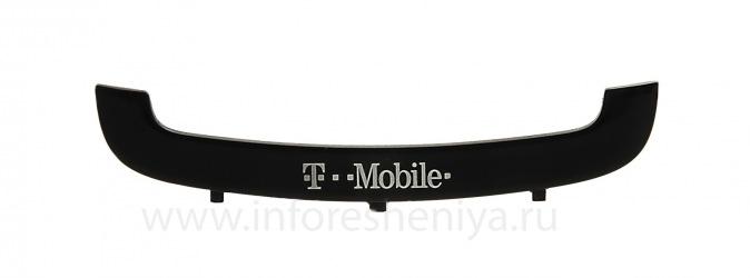 Une partie de la coque U-couverture avec le logo de l'opérateur pour le BlackBerry 9700/9780 Bold, Noir, T-Mobile