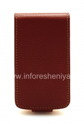 Кожаный чехол с вертикально открывающейся крышкой Wallet Case для BlackBerry 9700/9780 Bold, Коричневый