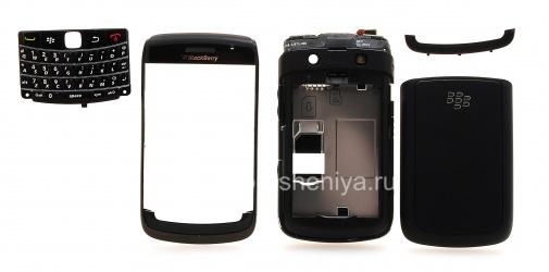 Оригинальный корпус для BlackBerry 9780 Bold, Черный (Black)
