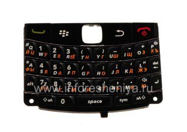 Купить Русская клавиатура BlackBerry 9780 Bold с толстыми буквами