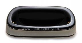 """Оригинальное настольное зарядное устройство """"Стакан"""" Charging Pod для BlackBerry 9700/9780 Bold, Металлик"""
